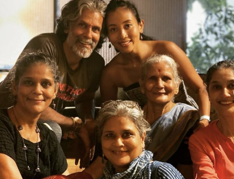 Sisters of Milind Soman. See Photos From His 'One and Only Festival'