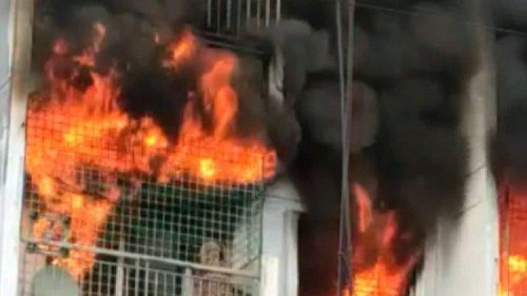 Viral Video: In An Apartment Fire In Bengaluru, Woman Died