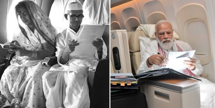 PM, On Board Air India One, Shares Photo: 'Long Flight Also Means...'