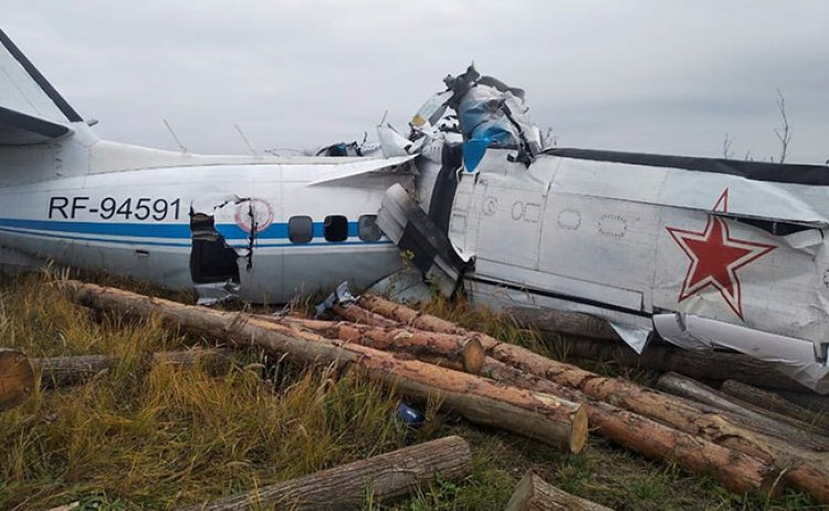 In Russia, 16 People Died In Plane Crashes, According To The Ministry Of Transport